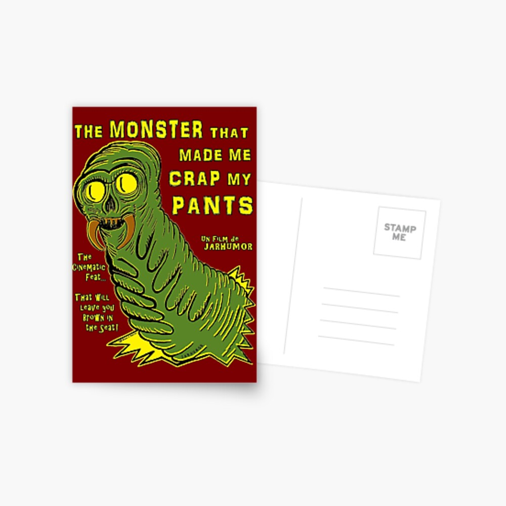 The Monster That... Postcard