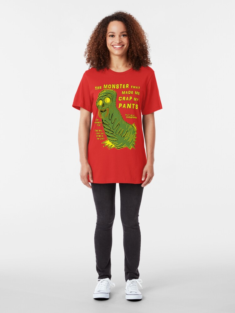 Alternate view of The Monster That... Slim Fit T-Shirt