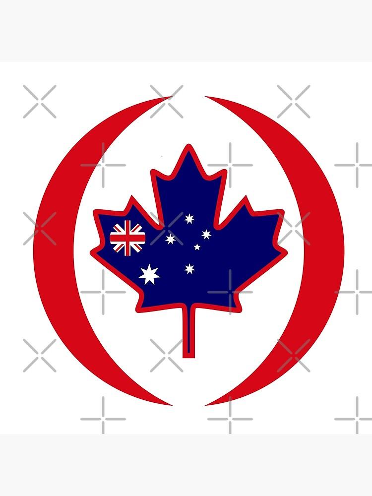 Australian Canadian Multinational Patriot Flag Series by carbonfibreme