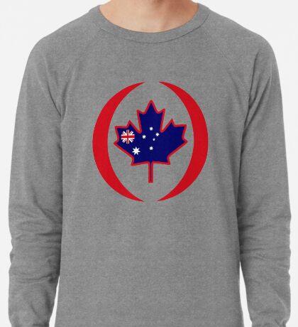Australian Canadian Multinational Patriot Flag Series Lightweight Sweatshirt