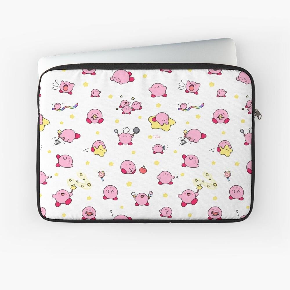 Pink, Puffy, Poyo!  Laptop Sleeve