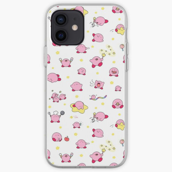 Pink, Puffy, Poyo!  iPhone Soft Case