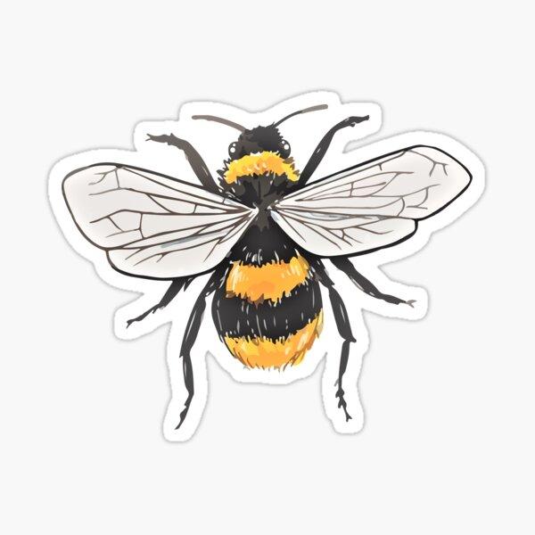 Bumbling Bumblebee Sticker