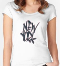 New York Fitted Scoop T-Shirt