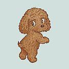 Toy-Poodle standing by Toru Sanogawa