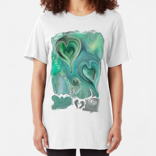LOVE IS KIND Slim Fit T-Shirt