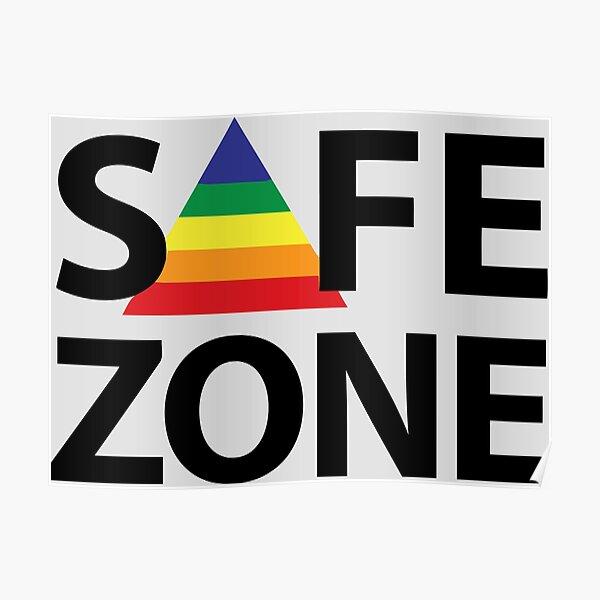 Zona segura Póster