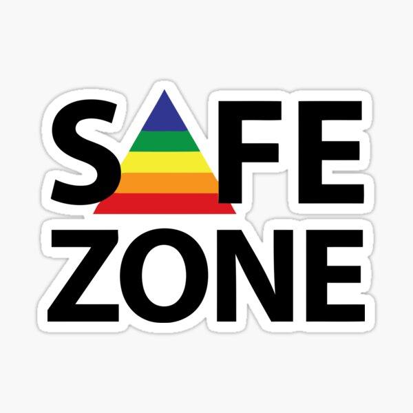 Zona segura Pegatina