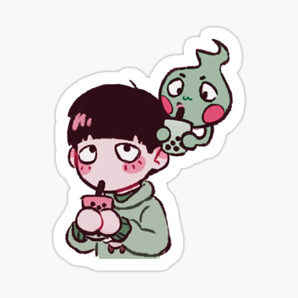 mobble tea Sticker