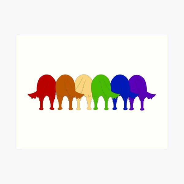 Golden Ratio Pride Art Print
