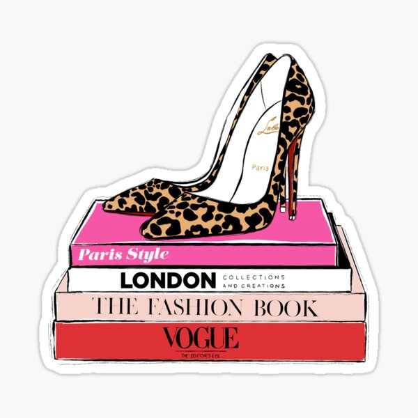 Fashion Heels Sticker