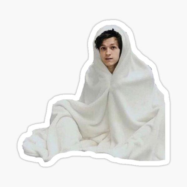 Tom Holland en una manta Pegatina