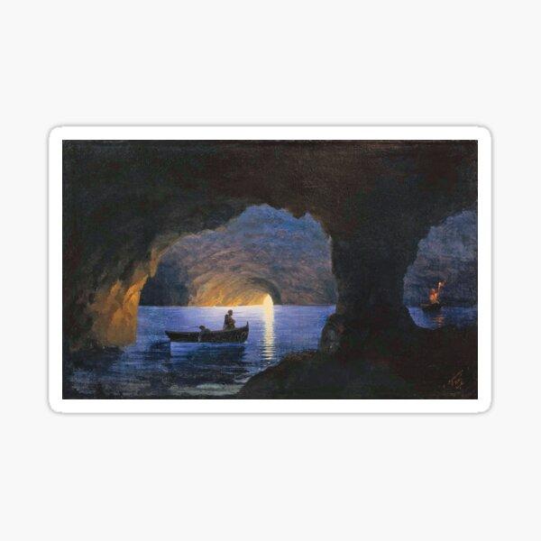 Azure Grotto, Naples (1841) Sticker
