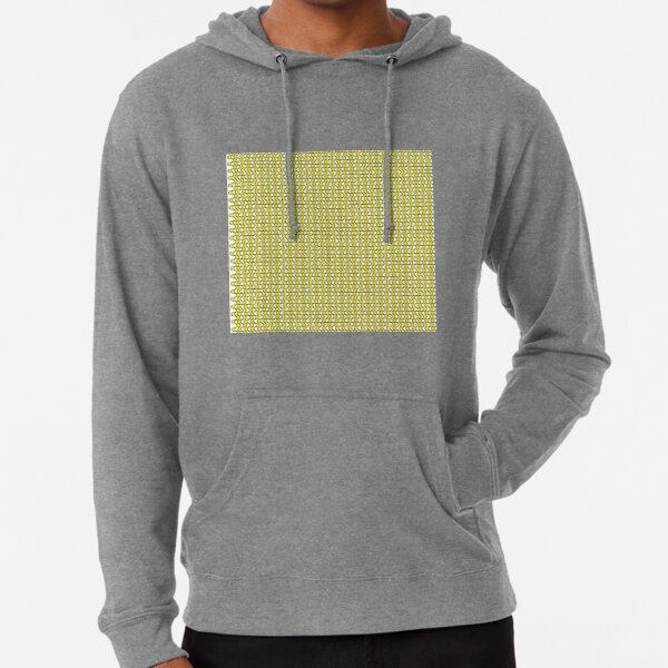 #Pattern, #repeat, #textile, #repetition,tile,abstract,fashion,grid Lightweight Hoodie