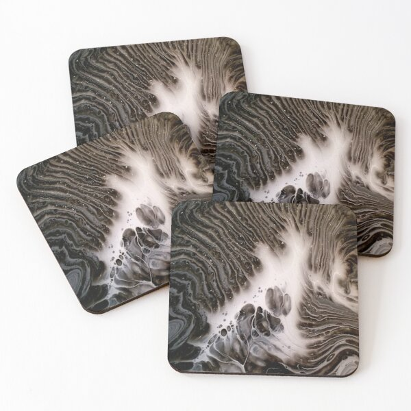Visions Of Chocolate & Cream Coasters (Set of 4)