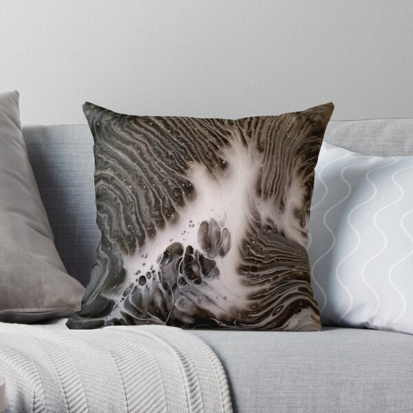 Visions Of Chocolate & Cream Throw Pillow
