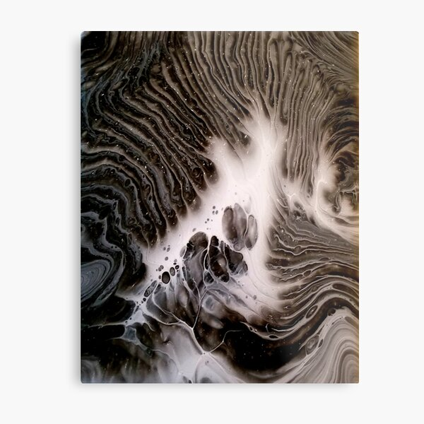 Visions Of Chocolate & Cream Metal Print