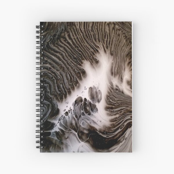 Visions Of Chocolate & Cream Spiral Notebook