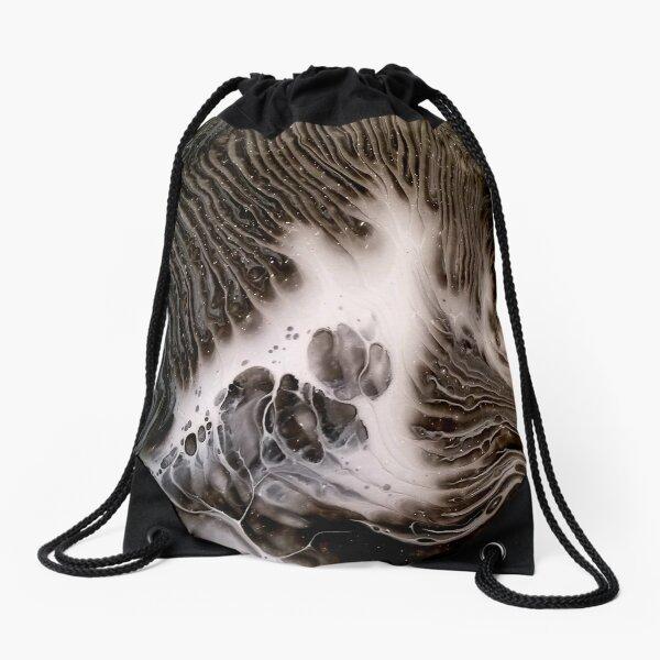 Visions Of Chocolate & Cream Drawstring Bag