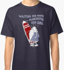 Manchester Surfer (Waiting for Waves) Classic T-Shirt
