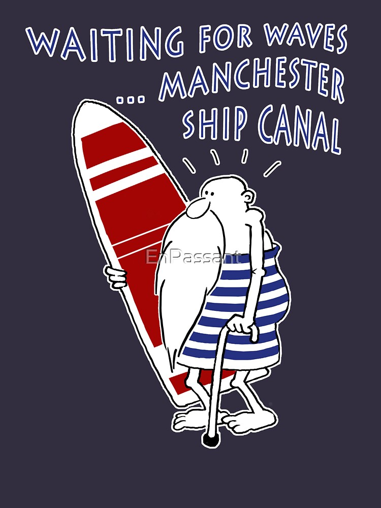 Manchester Surfer (Waiting for Waves) by EnPassant