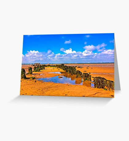When the Tide is Out Greeting Card