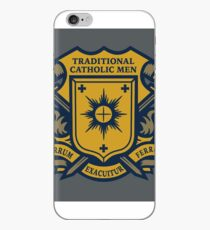 Traditional Catholic Men Coat of Arms iPhone Case