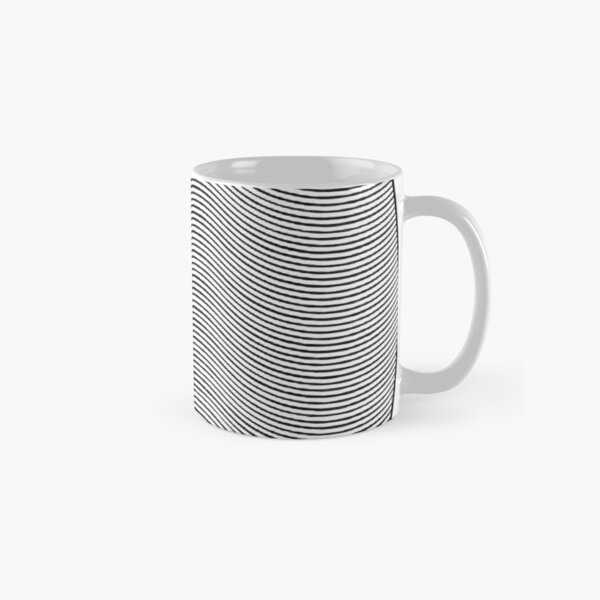 #Pattern, #repeat, #textile, #repetition,tile,abstract,fashion,grid Classic Mug