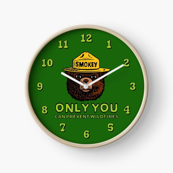Smokey The Bear: Only You Clock