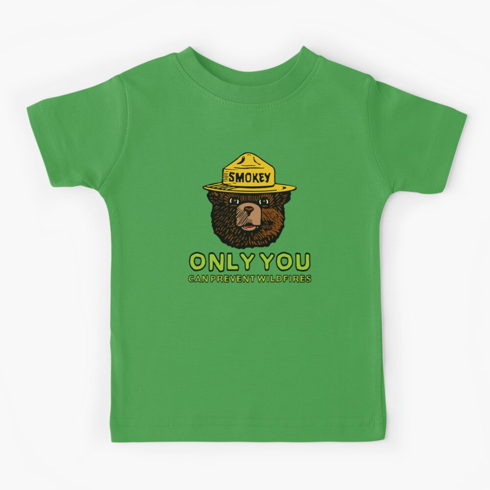 Smokey The Bear: Only You Kids T-Shirt