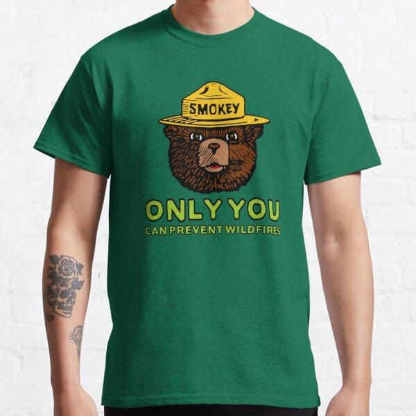 Smokey The Bear: Only You Classic T-Shirt