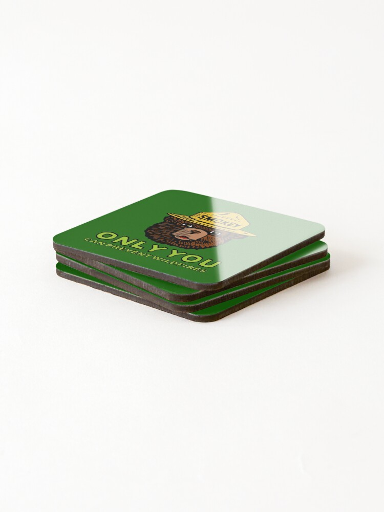 Alternate view of Smokey The Bear: Only You Coasters (Set of 4)