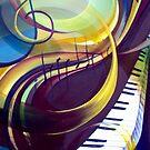 Piano II by agatakobus