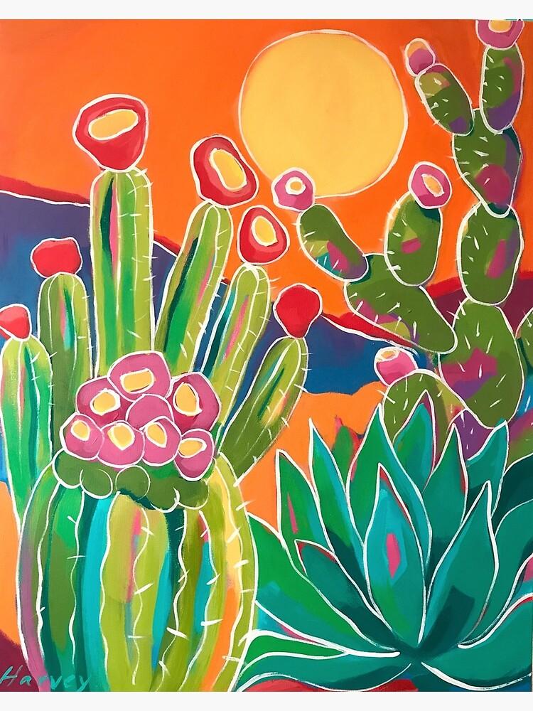 Cacti Sunset by kristinharvey