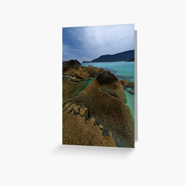 Little Waterloo, Granite & Blue.. Greeting Card