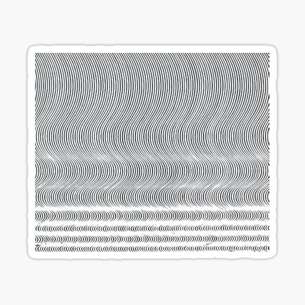 #Pattern, #repeat, #textile, #repetition,tile,abstract,fashion,grid Sticker