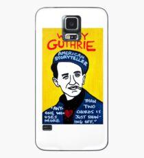 Woody Guthrie Folk Art Case/Skin for Samsung Galaxy