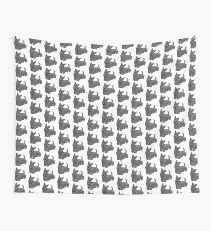 Scottish Terrier Wall Tapestry