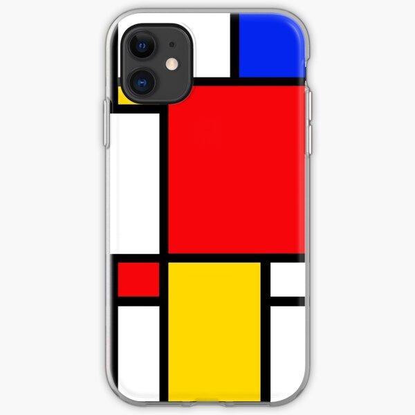 Mondrian iPhone Soft Case