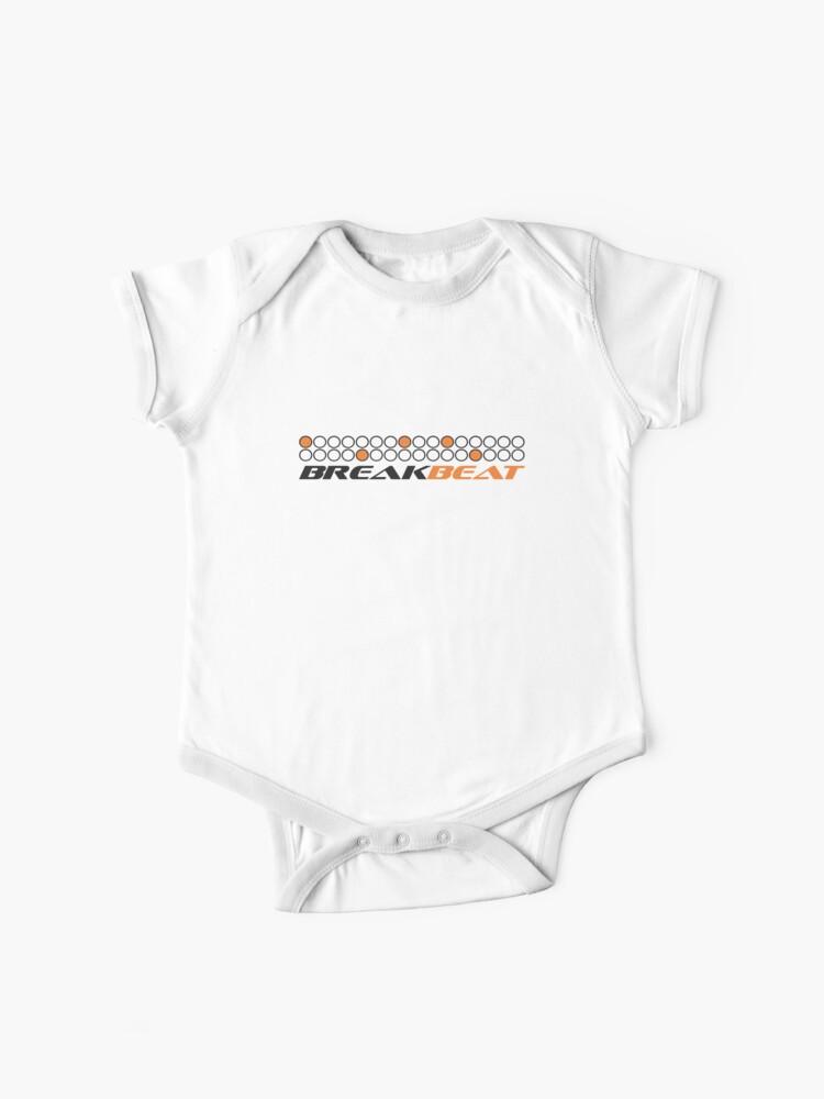 "Baby /""Headphones/"" Bodysuit Funny Babygrow DJ Music Club Clothes Gift"