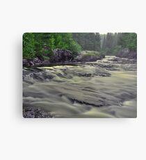 Whitefish River Metal Print