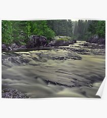 Whitefish River Poster