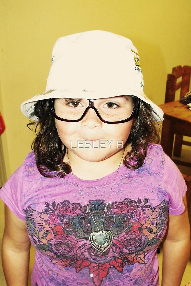 Kaya's Broken sunglasses by LESLEY BUtler