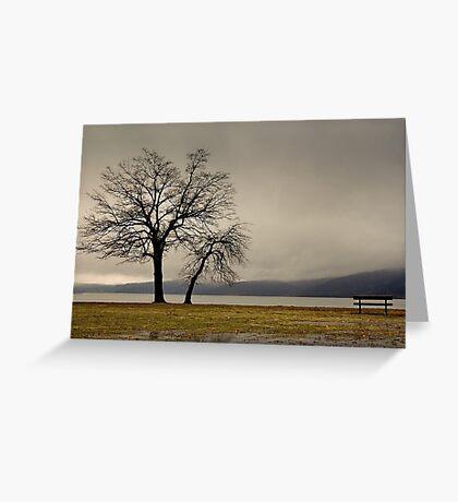 Peekskill Riverfront Greeting Card