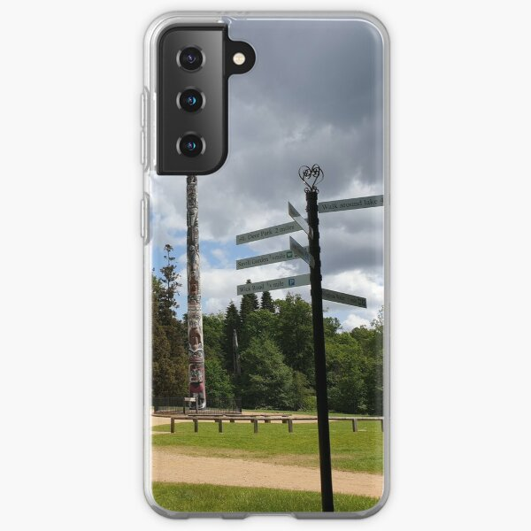 Totem pole vs direction pole at valley gardens Samsung Galaxy Soft Case