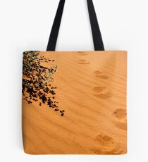 Desert Colors #7- Footprints Tote Bag