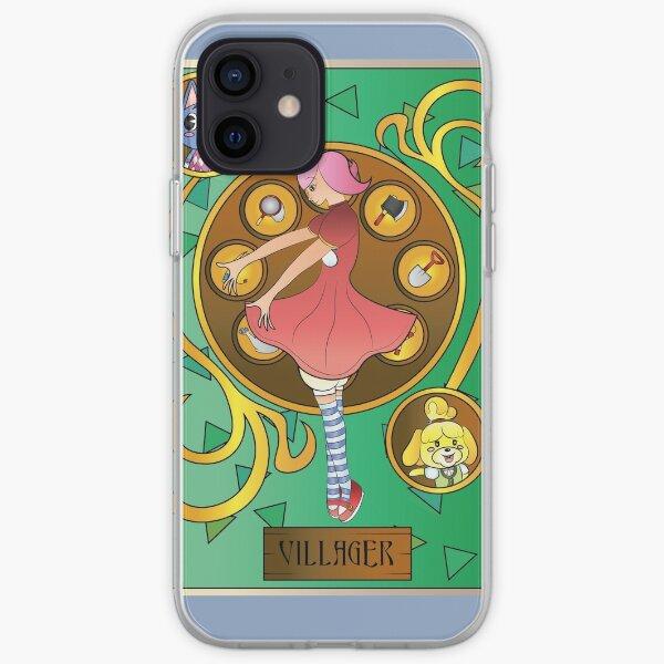 Animal Crossing Villager Art Nouveau iPhone Soft Case