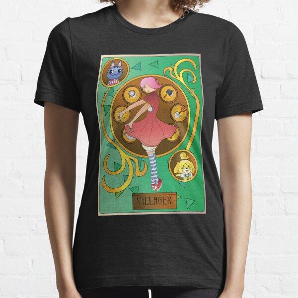 Animal Crossing Villager Art Nouveau Essential T-Shirt