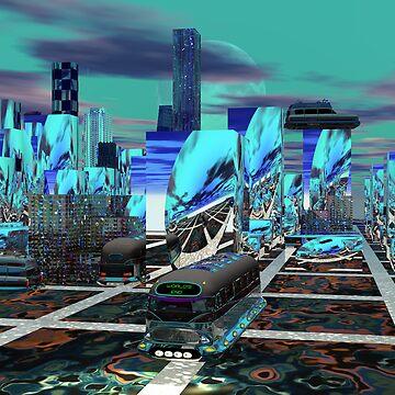 Southside  Yowzer City by Sazzart