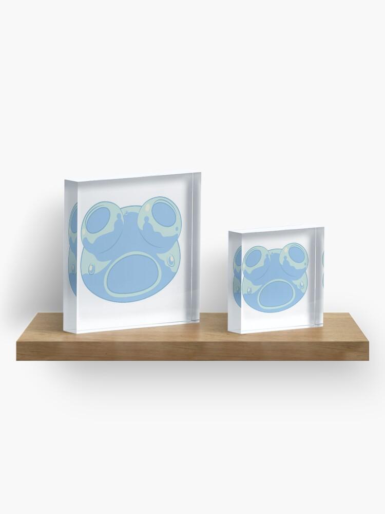Alternate view of Shocked Rimuru Slime Form Acrylic Block